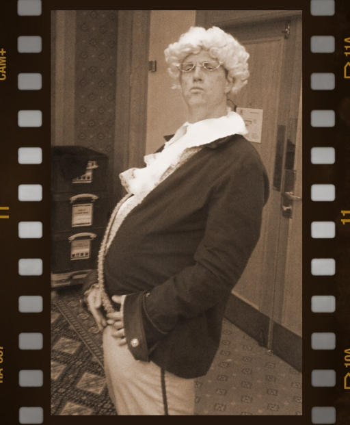 Event Manager Dave Hall as Lord John
