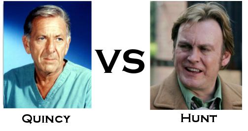 Quincey vs Hunt