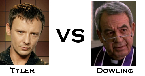 Tyler vs Dowling - the TV Detective World Series